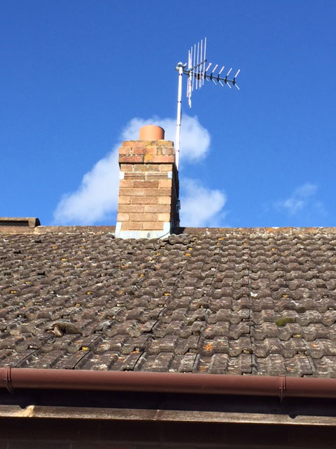Replacing very old aerial in Evesham